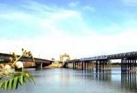 Sông Bến Hải và cầu Hiền Lương